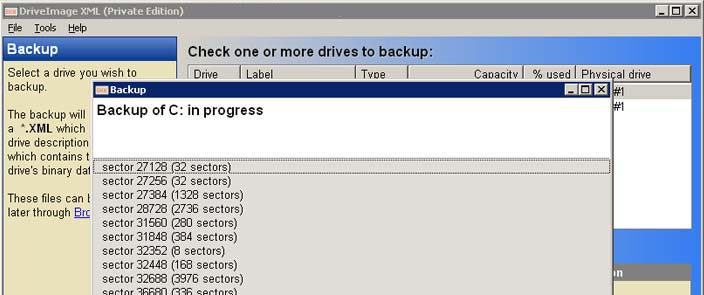 DriveImage XML Backup Software - Data Recovery Product