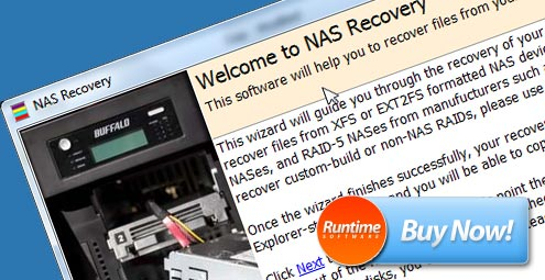 NAS Recovery